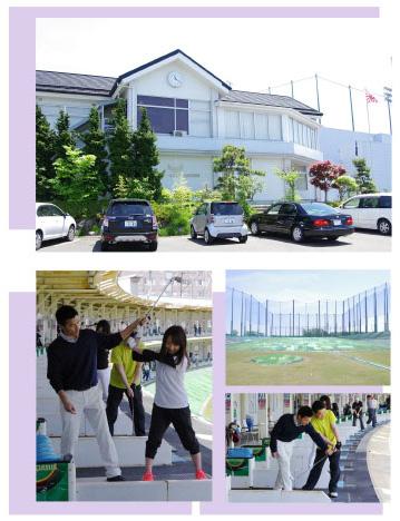 インドアゴルフスクール ケイズゴルフ 仙台 店内風景
