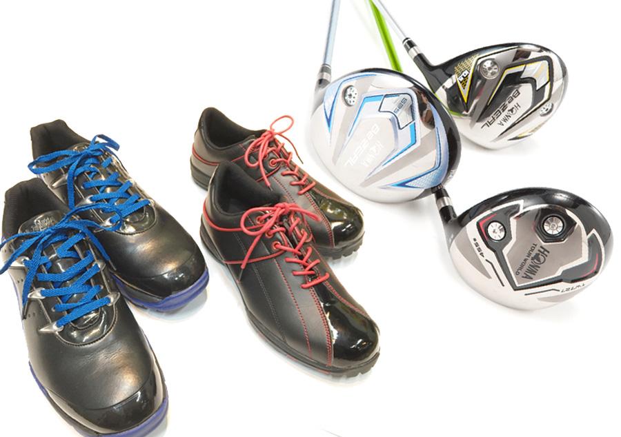 ゴルフクラブとゴルフシューズはレンタル無料